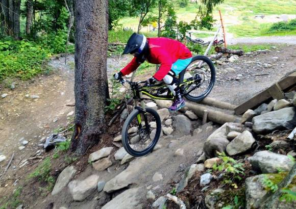 Specialize women downhill freeride